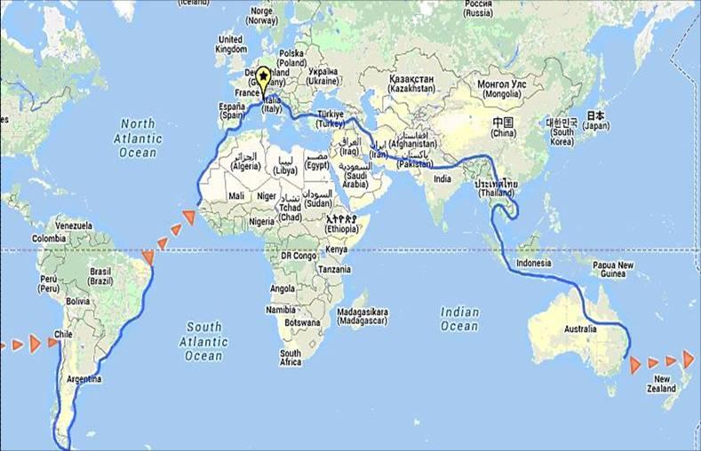 Come preparare un viaggio in solitaria in giro per il mondo